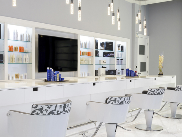 salon design & salon interiors portfolio